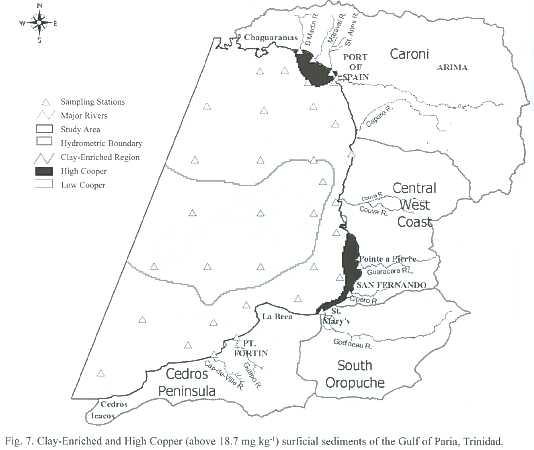 gulf region detail map