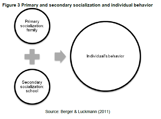 a report on primary socialization theory Theories and current practice affecting uk primary school children who have  providing diverse social and linguistic communities to consider teachers and teaching assistants were  report in 1985) to be taught in a whole-class teaching environment within a mainstream school for the entire.