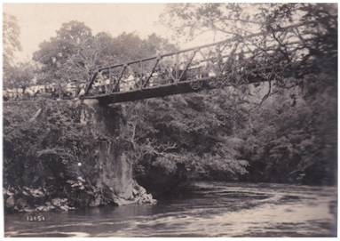 Resultado de imagen de inauguración puente angostura, turrialba, 1923